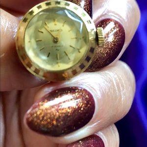 Vintage Seiko Watch Ring